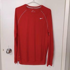Nike long sleeve Dri-Fit Running shirt